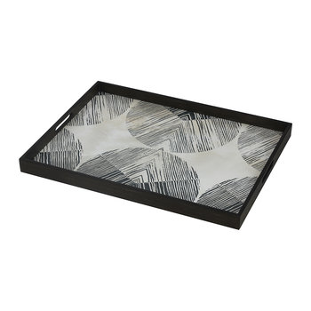 Chevron Driftwood Tray - Rectangular - Large