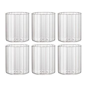 Romantic Water Glasses - Set of 6