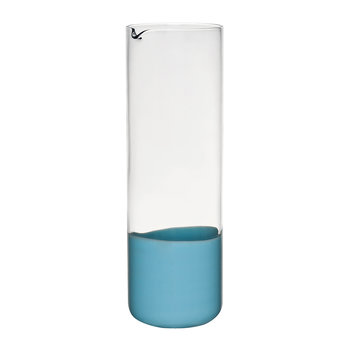 Spot Glass Pitcher - Light Blue