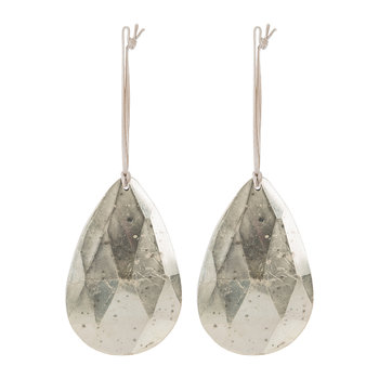 Set of 2 Teardrop Tree Decorations