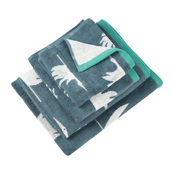 Colin Crane Towel - Cool Lagoon