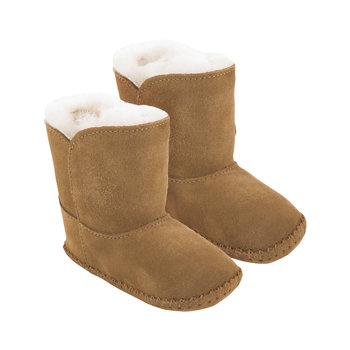 Cassie Poppy Infant Boots - Chestnut