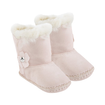Cassie Poppy Infant Boots - Seashell Pink