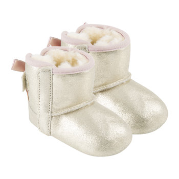 Jesse Bow II Infant Boots - Gold