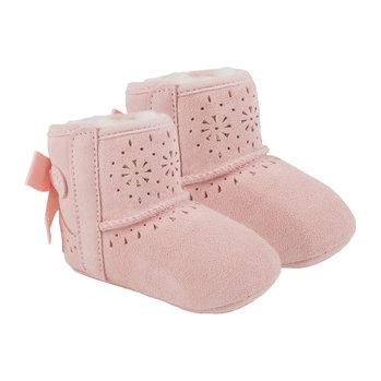 Jesse Bow II Sunshine Infant Boots - Baby Pink