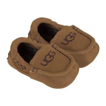 Sivia Infant Slippers - Chestnut