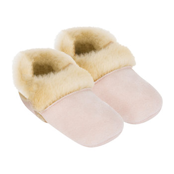 Solvi Infant Slippers - Baby Pink