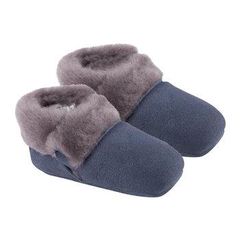 Solvi Infant Slippers - New Navy