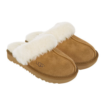 Children's Cozy II Slippers - Chestnut