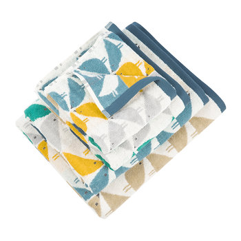 Lintu Towel - Cool Lagoon