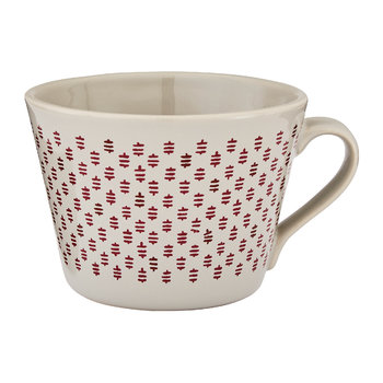 Red Conical Mug with Gift Box - Honey