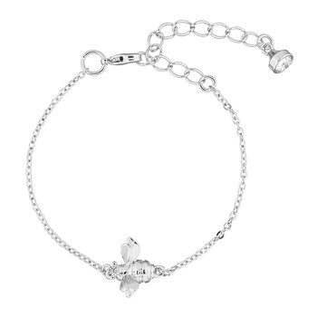 Beedina Bumble Bee Bracelet - Brushed Silver