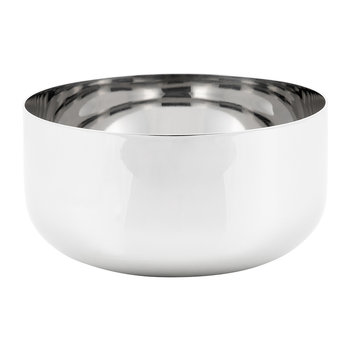Modern Tableware Cereal/Soup Bowl - Stainless Steel