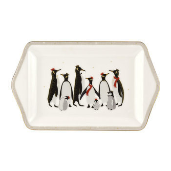 Christmas Penguin Dessert Tray