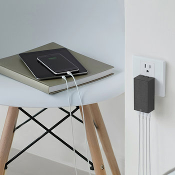 Smart 4 Charger International - Slate