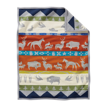 Muchacho Baby Blanket - Shared Paths