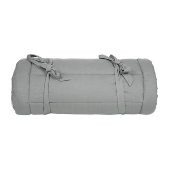 Cannes Outdoor Lounge Chair Pillow - Steel Gray