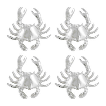 Crab Napkin Ring - Set of 4