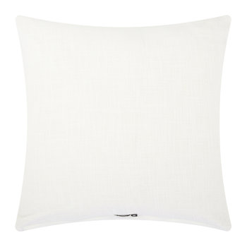 Empress Pillow Cover - 50x50cm - White/Gold