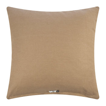 Oval Pillow Cover - Tan - 50x50cm