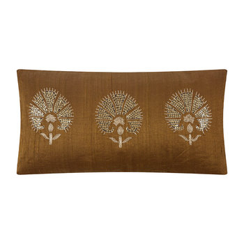 Coussin Perfect Bloom - 25x50cm - Caramel
