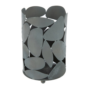 Iron Votives - Set of 2 - Gray