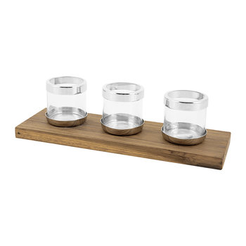 Triple Tealight Holders