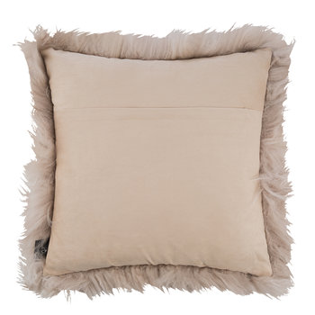 Sheepskin Pillow - 45x45cm - Blush