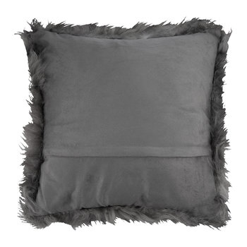 Sheepskin Pillow - 45x45cm - Gray