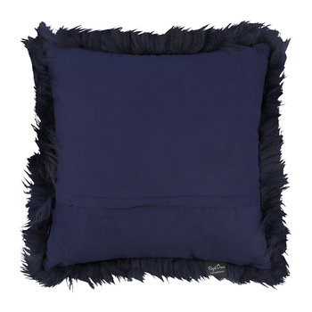 Sheepskin Pillow - 45x45cm - Navy