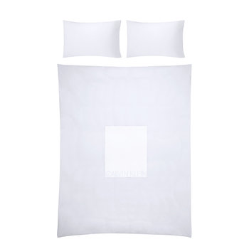 Calvin Duvet Cover - White