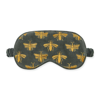 Amara X ES Velvet Bee Eye Mask - Charcoal