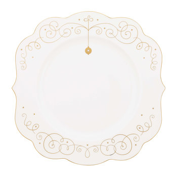 Royal Christmas Plate