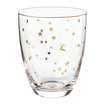 Royal Christmas Water Glass