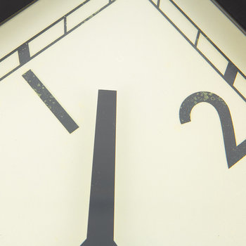Quad Clock - Stainless Steel