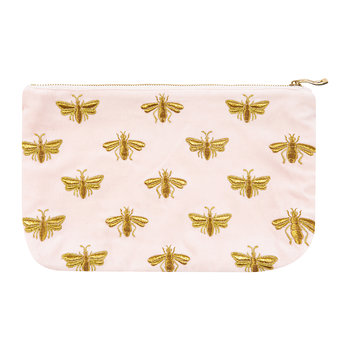 Amara X ES Bee Wash/Clutch Bag - Rosewater