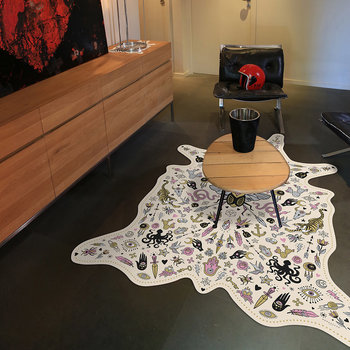 Tapis de sol en vinyle collection Tatouage - Multi Bug