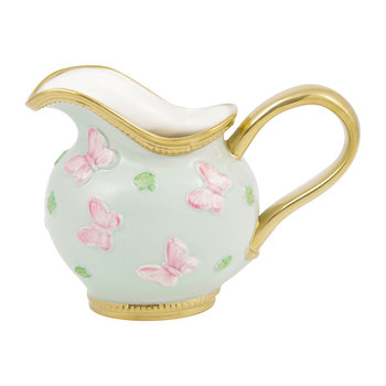 Butterfly Porcelain Creamer - Aquamarine/Gold