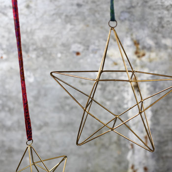 Talini Star Christmas Tree Decoration