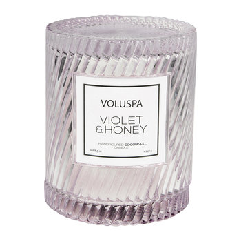 Macarons Icon Candle - Violet & Honey - 240g