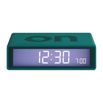 Flip Clock - Blue/Green