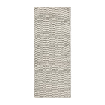 Peas Runner Rug - Soft Grey - 80x200cm