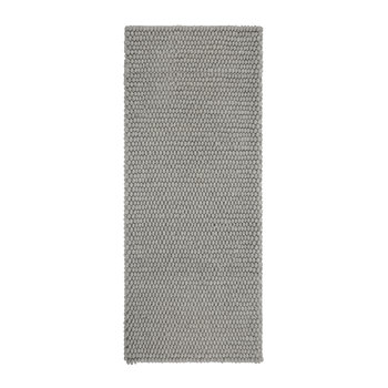 Peas Runner Rug - Medium Grey - 80x200cm