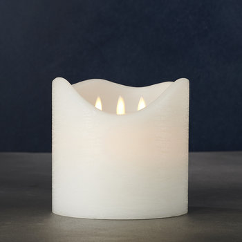 Sara Exclusive Flameless Candle - Three Wick