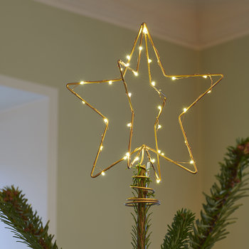 Christina Christmas Tree Topper - Gold