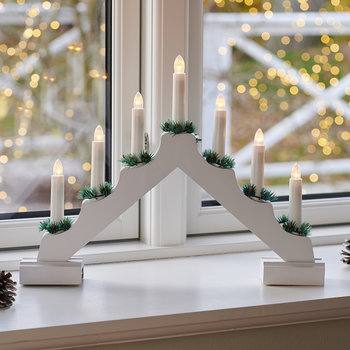 Sussie Candle Light Bridge - White