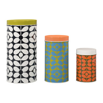 60's Stem Canisters - Set of 3
