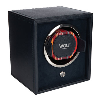 Howard Single Cub Watch Winder - Navy
