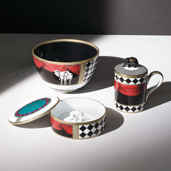 Totem Elephant Mug with Lid