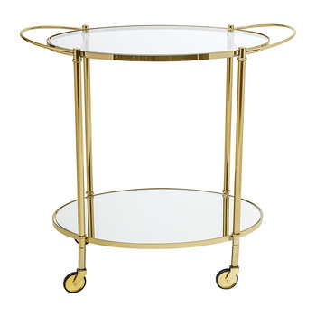 Fine Bar Side Table - Gold